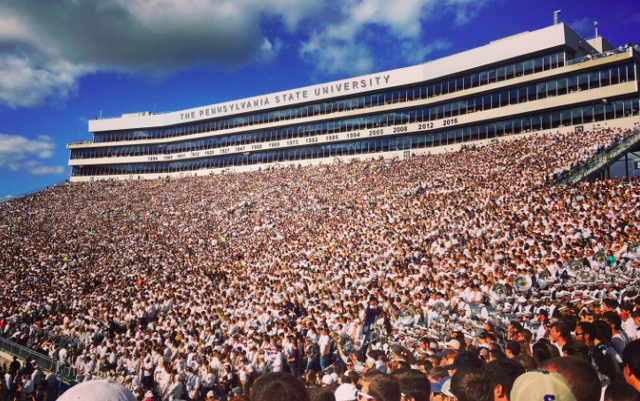 Penn State Athletics Releases Another Football Attendance Survey