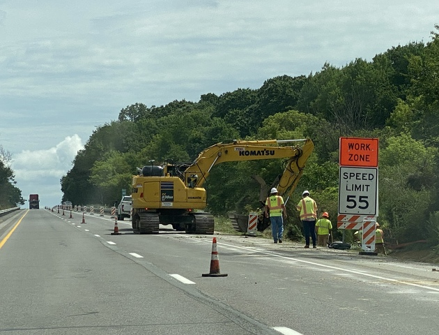 First phase of I-99/I-80 High Speed Interchange Project Underway