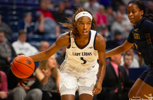 Penn State Women's Basketball Star Kamaria McDaniel Enters Transfer Portal