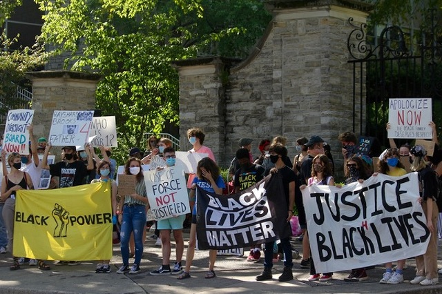 Community Members Continue Call for Racial Justice with Latest March and Teach-In