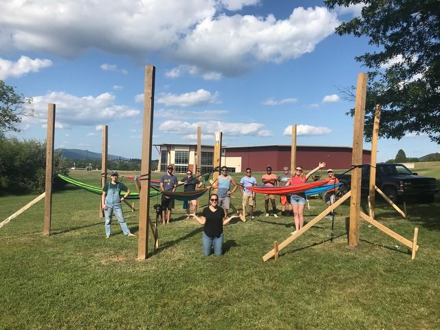 New Communitree Project Provides a 'Hang Out' Spot