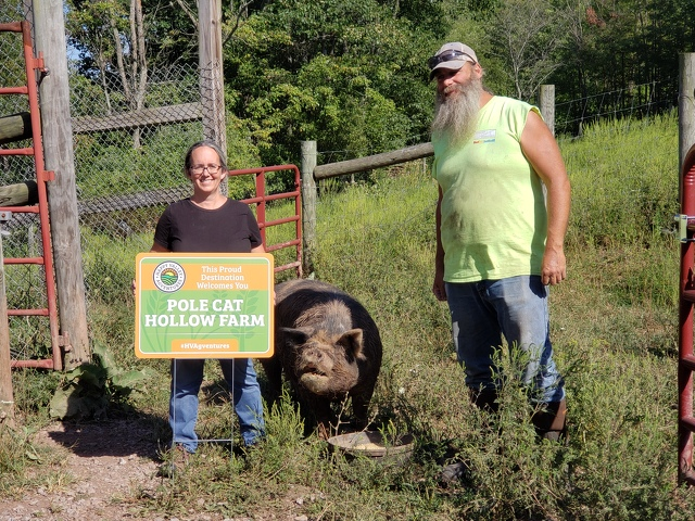 Signage Raises Visibility of County's Agriculture-Focused Establishments