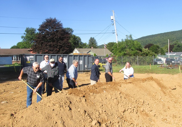Centre Hall Fire Company Breaks Ground for New Station