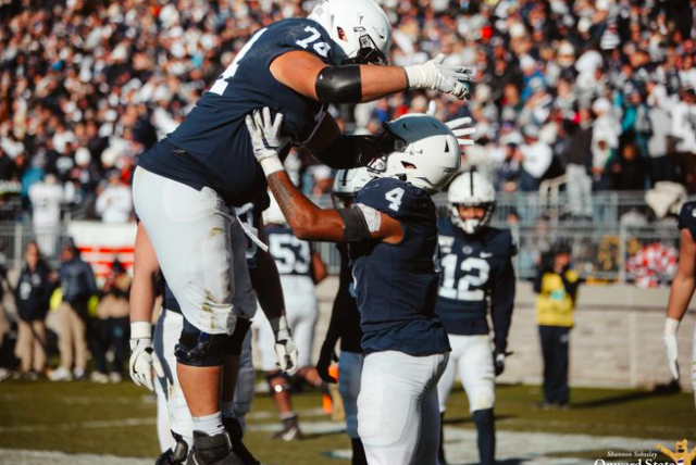 Penn State Football Holds Steady At No. 9 In Latest AP Poll