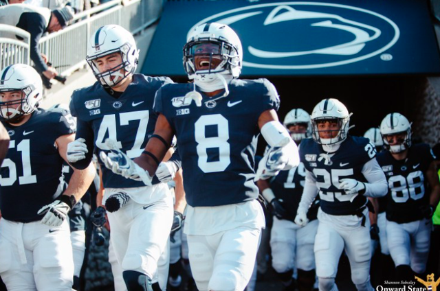 Penn State Football Ranked No. 8 in AP Top 25 Poll