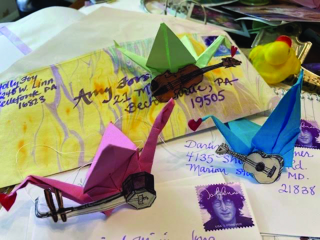 Bellefonte Art Museum's Cranes Project Sends Inspiration Around the Nation – and the World