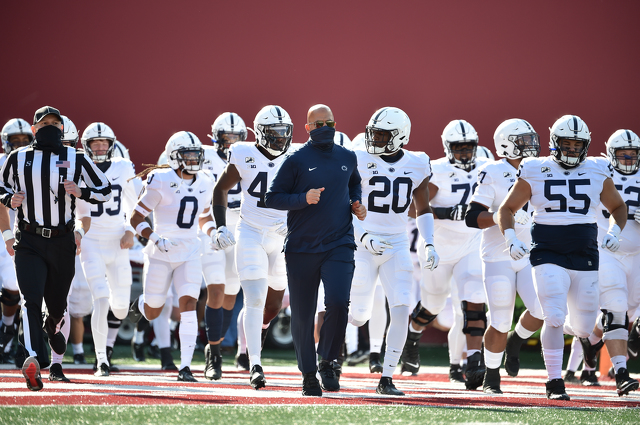 Penn State Football Falls to No. 18 in AP Top 25 Poll