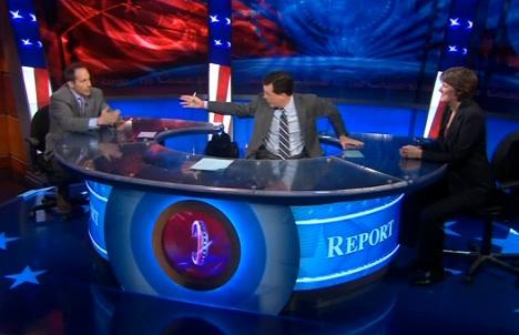 Columnist Joe Bastardi Appears on Colbert Report