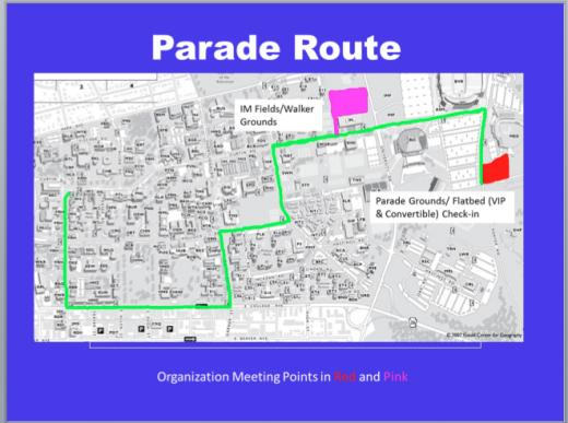 Penn State Homecoming: See the Parade Map, Weekend Event Reminders