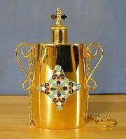 Flask, Plate Reported Stolen from State College Orthodox Church