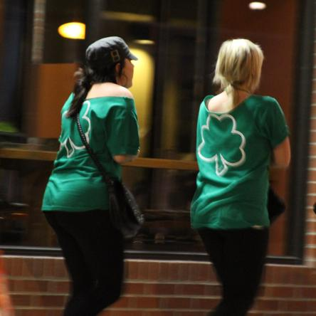PHOTOS: State Patty's Day Brings Long Lines, Community Effort to State College