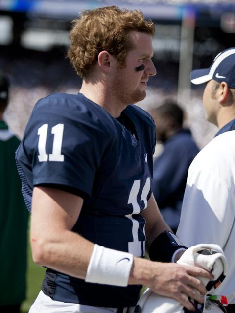 Penn State Football: McGloin Doesn't Start, But Finishes with Big Ten Honors