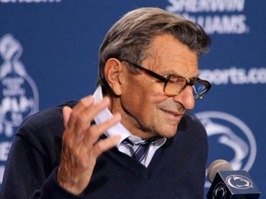 Paterno: 'Who Knows. Maybe I'll Go 10 Years' More as Coach