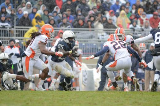 Penn State Football: Redd Runs Nittany Lions to Last-Second 10-7 Win Over Illinois