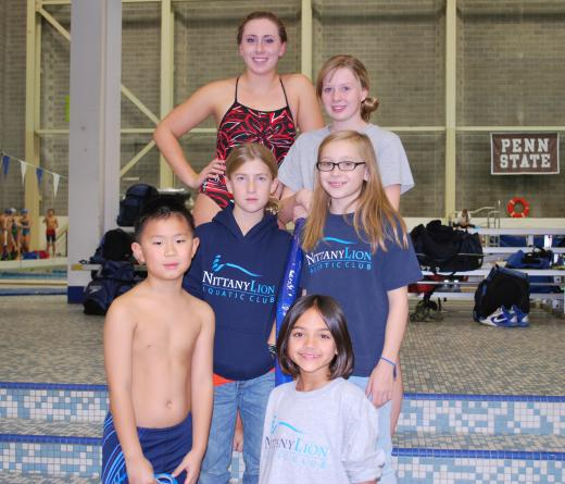 Nittany Lion Aquatic Club 'Sprangs' into Action at The Nat