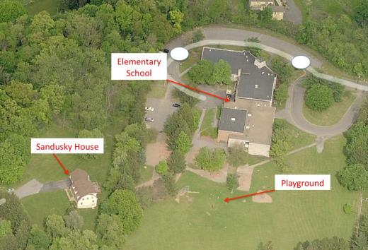 Sandusky Home Borders Elementary-School Grounds; Administrative Action Taken