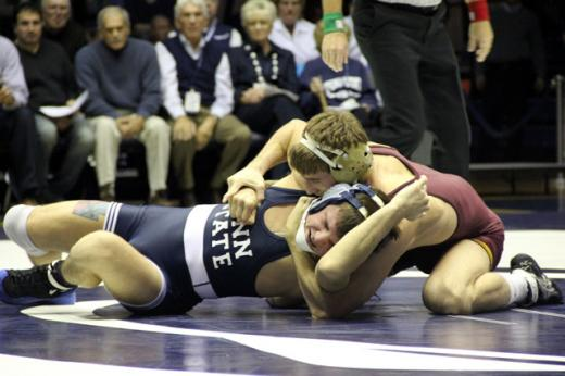 Penn State Wrestling: Nittany Lions Fall to the Golden Gophers, 23-14