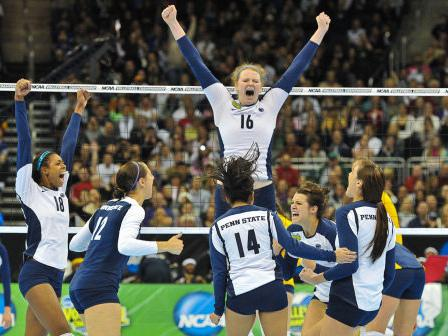 Women's Volleyball: Penn State Defeats Delaware to Advance to Regional Semifinal