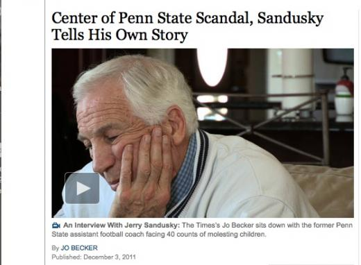 Sandusky Interview