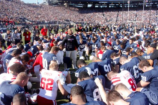 Joe Battista: Supporting the Victims AND Our Football Team