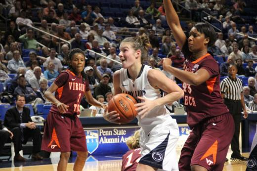 Lady Lions: Penn State Coasts Past Maryland Eastern Shore