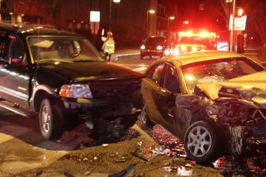 Two Cars Collide at Atherton Street and Beaver Avenue
