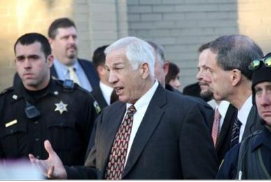 Sandusky Waives Preliminary Hearing; Amendola Declares 'a Fight to the Death'