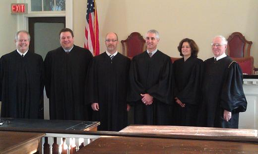 Centre Co. Judges Swear in New Officials; Commissioners Look toward Collaboration