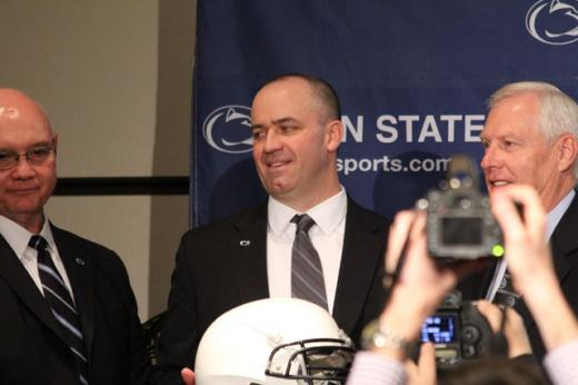 VIDEO: O'Brien, Leaders Address the Media at Penn State