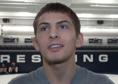 VIDEO: Penn State Wrestlers Gearing up to Face Iowa