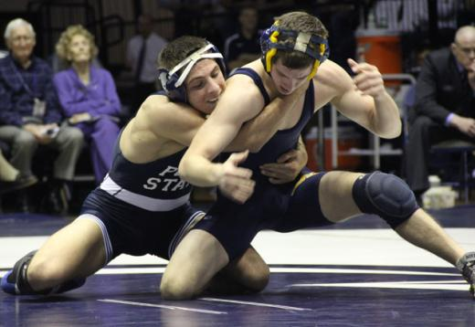 Penn State Wrestling: Megaludis Ready to Wrestle Iowa's McDonough, Again