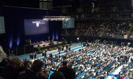 Jay Paterno, Former Football Players Eulogize Paterno at 'A Memorial for Joe'