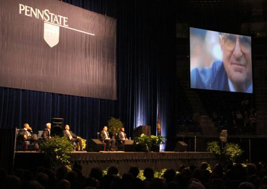 Joe Paterno Memorial Service: Jay Paterno: 'We All Love You. You Won. You Can Go Home Now'