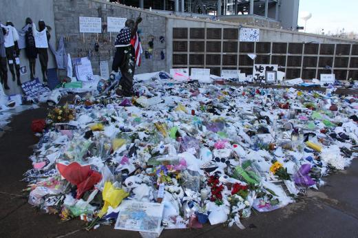 Future of Mementos at Paterno Statue to Be Determined