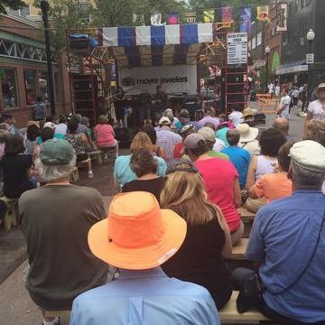 Arts Fest Brings Alumni, Students Back to State College