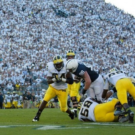 Penn State Football: ESPN Ranks Penn State Michigan Clash No. 14 On Top 25 Of 2013