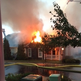 Fire Severely Damages Ferguson Township Condominium, Reportedly Struck by Lightning