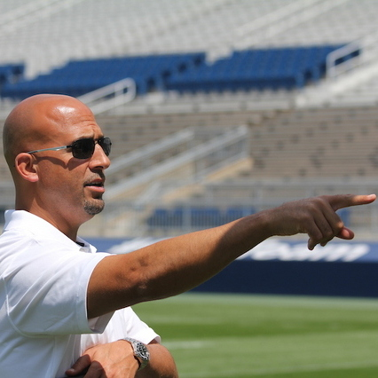 Penn State Football: Team Photo Day Inside Sunny Beaver Stadium