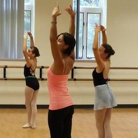 Yudenich aids ballet students during visit to State College