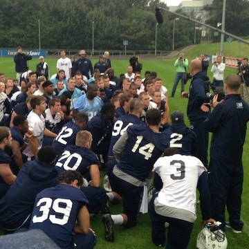 Penn State Football: Soggy Practice Still A Good One In Franklin's Eyes