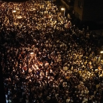Penn State Students Rally Late Into The Night To Celebrate The Lifted Sanctions