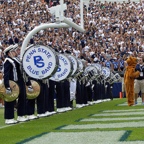 Going Head to Head With Penn State's Blue Band