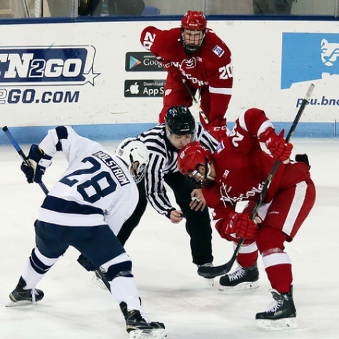 Penn State Hockey: Inside The Dots, Winning A Faceoff With Scott Conway