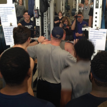 Penn State Football: Watch Dowrey Squat 545, Freshman Gains A Positive In Early Going