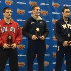 Matt Brown Captures 174-Pound Wrestling National Championship