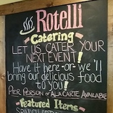 Rotelli Declares Bankruptcy, Auction Called Off, Restaurant Still in Business