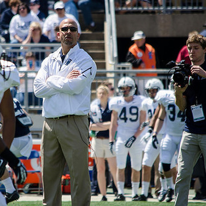 Penn State Football: Franklin Set To Throw Out First Pitch At Yankee Stadium