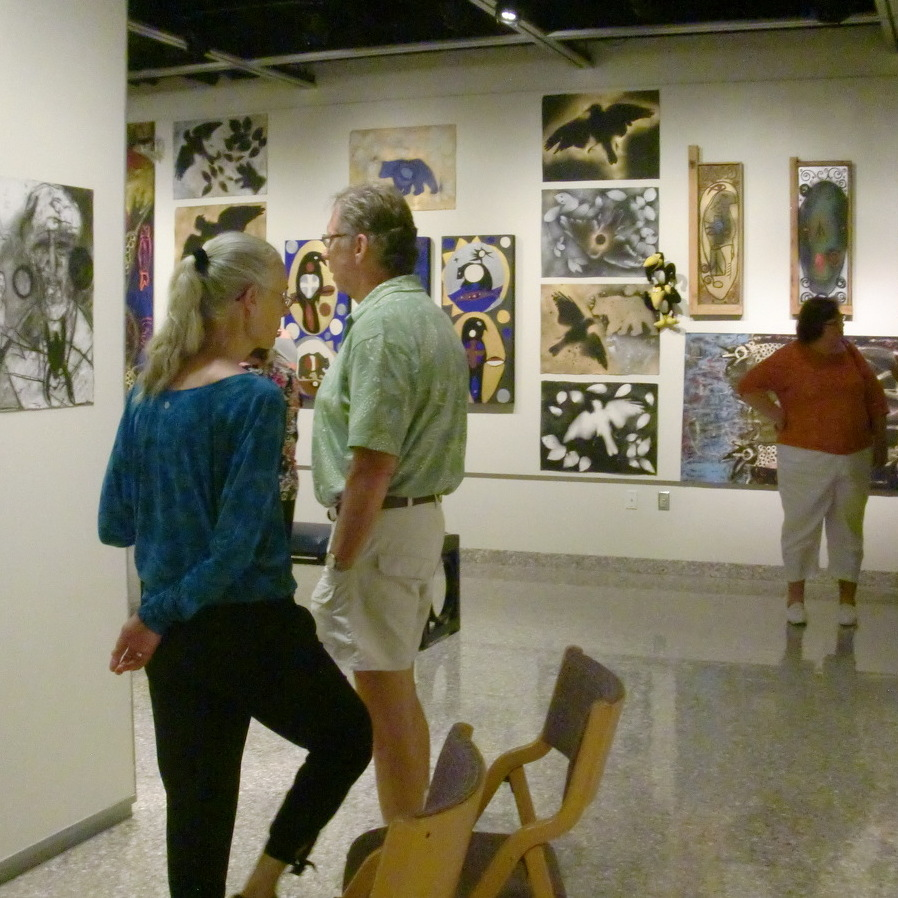 HUB-Robeson Center showcases the art of John Mangan