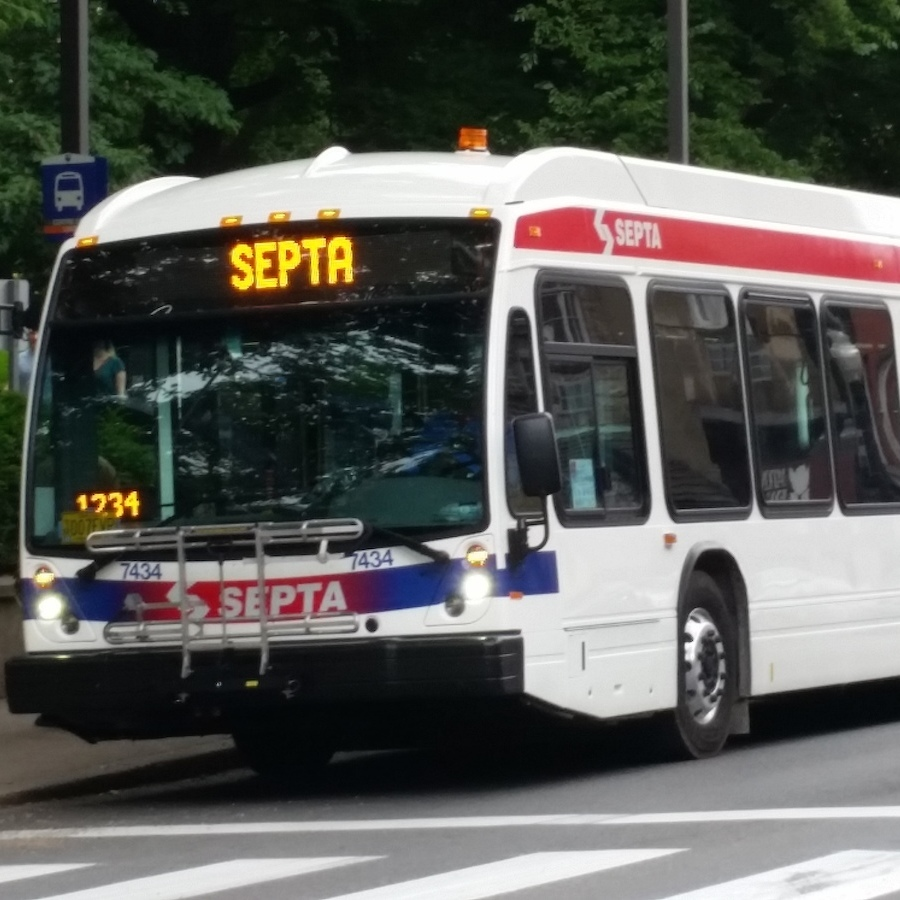 CATA Stretching Into the Future, Test Drives Super-Sized 'Bendy Bus'
