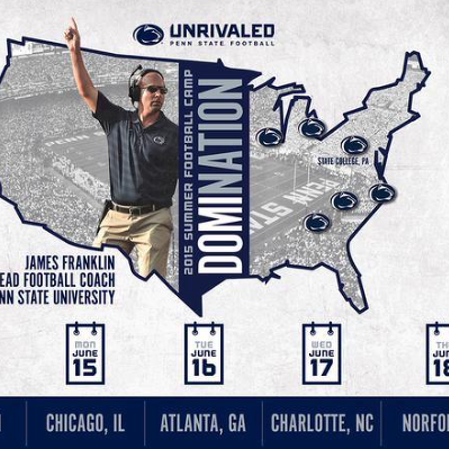 Penn State Football: Social Media Reacts As Satellite Camp Tour Moves Along